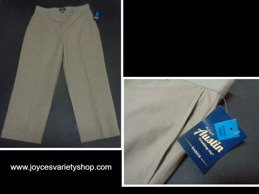 Austin Young Mens Khaki Pants NWT Sz 31/30