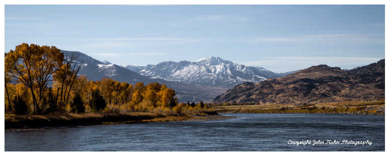 Yellowstone River Pano