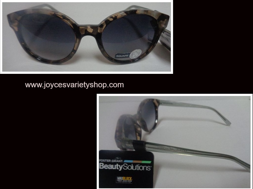 Foster Grant Beauty Solutions Square Multi-Color Sunglasses