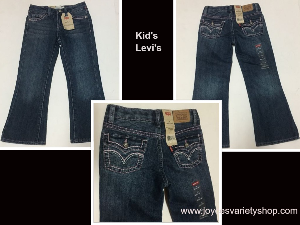 Levi's 715 Boot Cut Jeans Toddlers Sz 5 Girl's