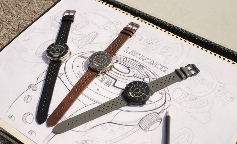 "Lenvino Watch Co. Launches the Lecronos ""Race for Vintage"" Collection"