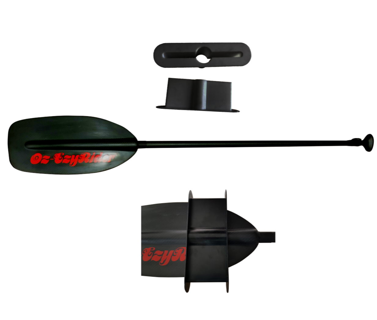 D.I.Y. Conversion Paddle Keel Board Kit.