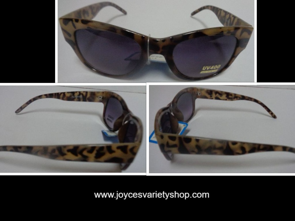 Solaray Camouflage Sunglasses NWT Animal Print UV400