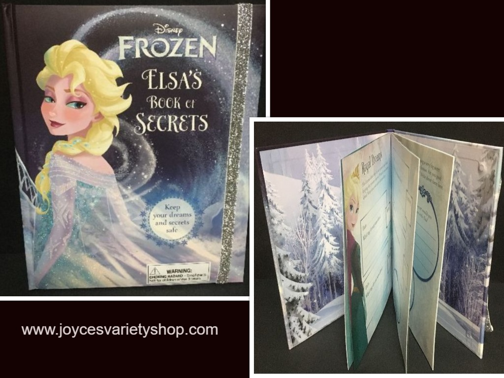 Elsa's Book of Secrets Royal Diary Frozen