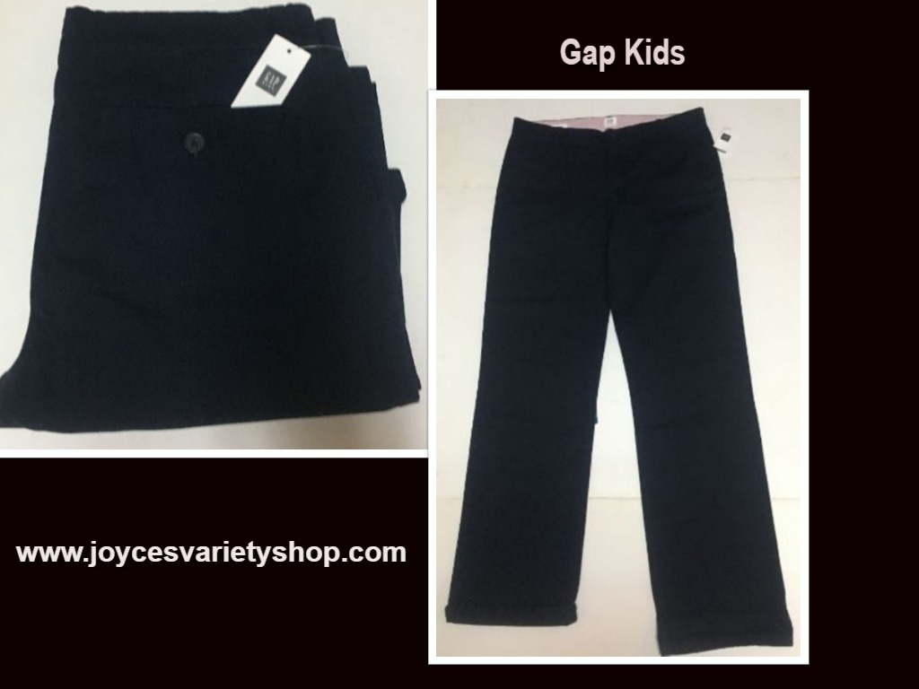 GAP Kid's Sz 18 R Navy Blue Pants