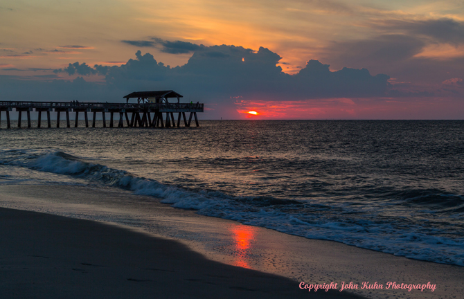 Tybee Island Sunrise, Savannah Georgia