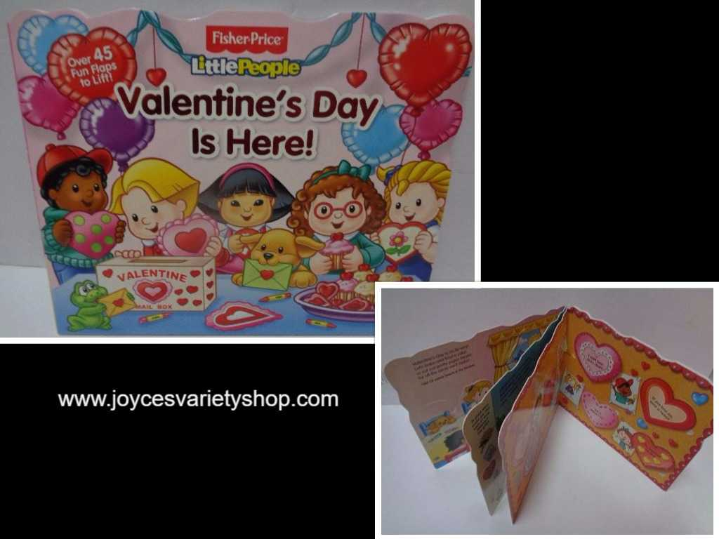 Fisher Price Little People VALENTINE'S DAY IS HERE! Activity Book BRAND NEW