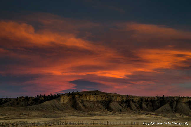 Wyoming Sunset, Casper WY