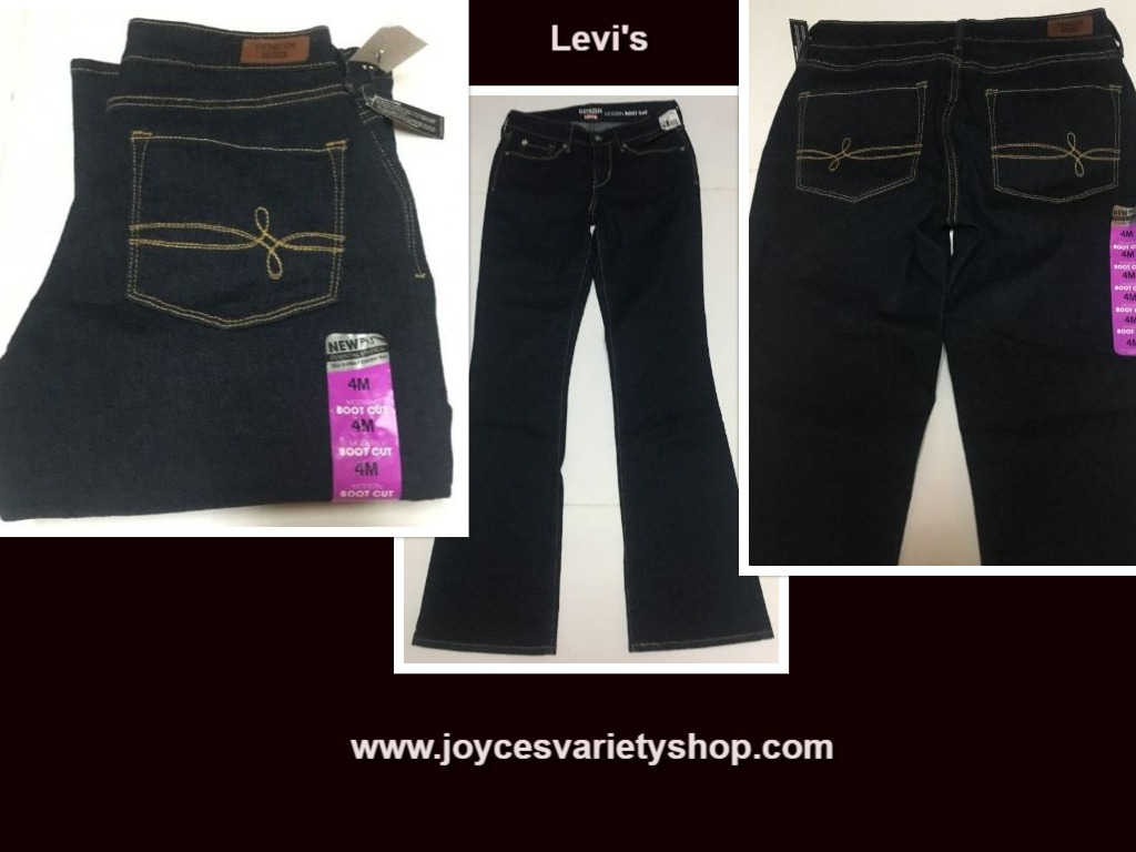 Denizen Levi's Modern Boot Cut Jeans Sz 4M Stretch
