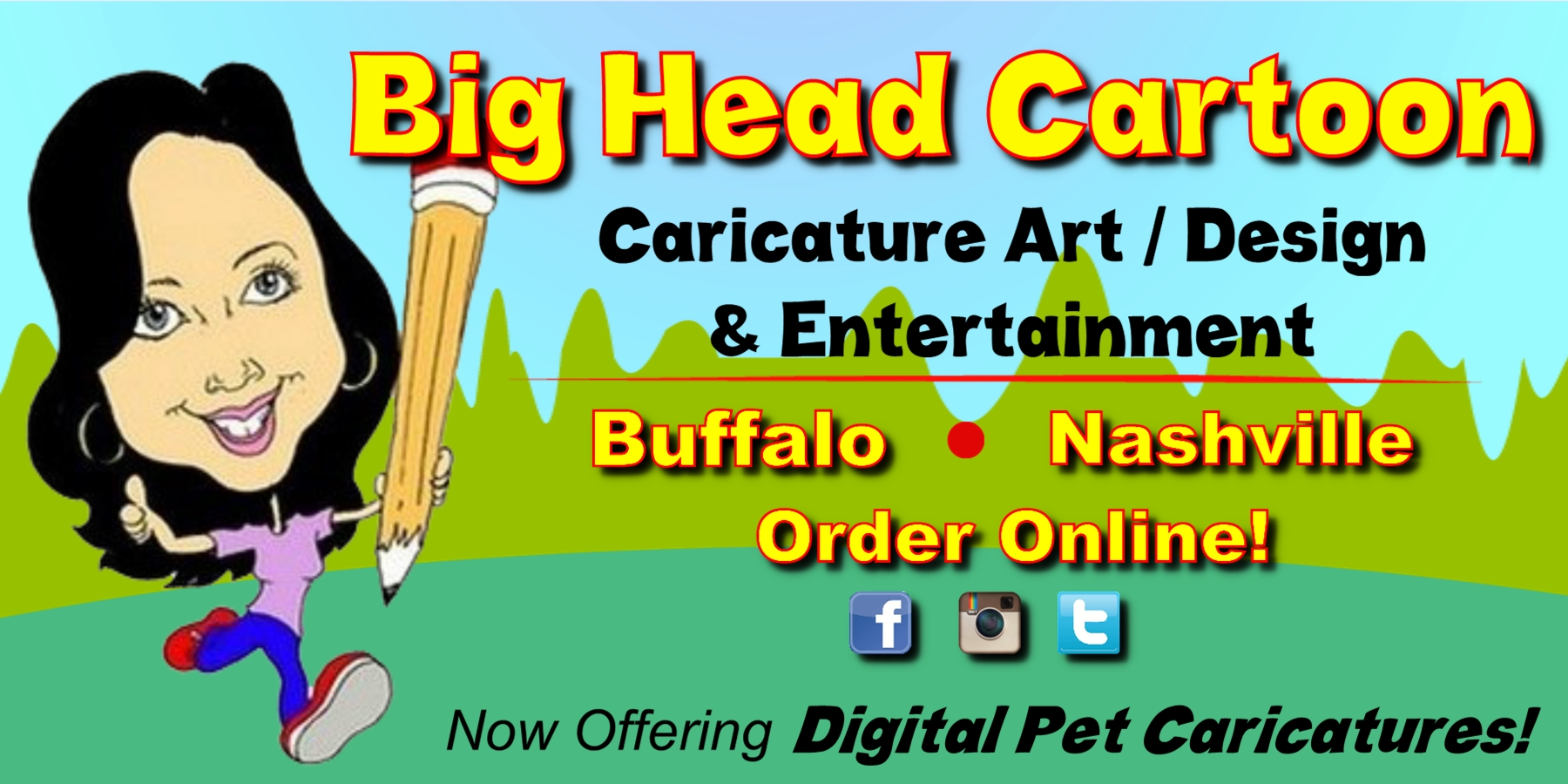 WNY's most in demand Caricature Artist