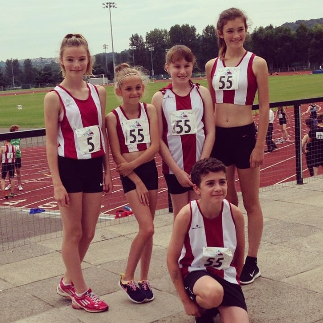 AVAAC Athletes in YDL - July 2014