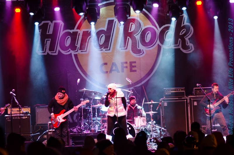 Hard Rock Cafe NYE with Living Colour