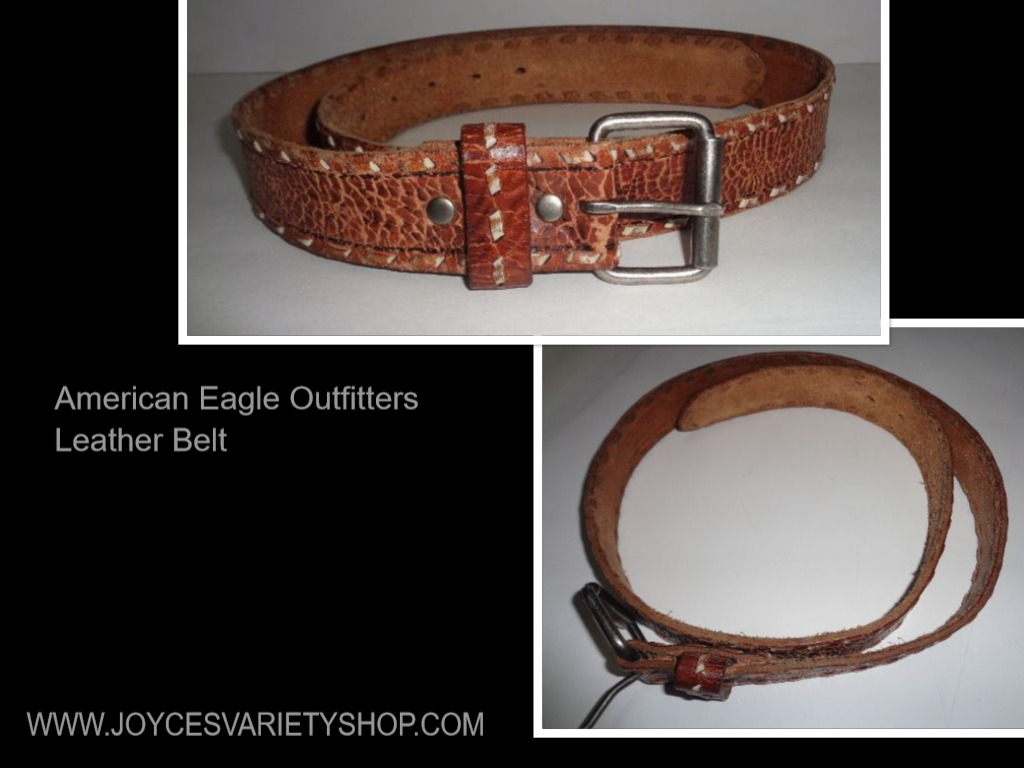 American Eagle Outfitters Leather Belt Brown SZ 36