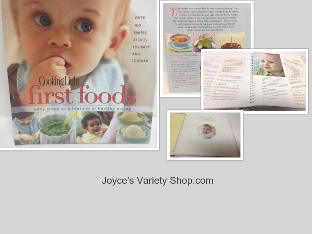 First Foods Recipe Book