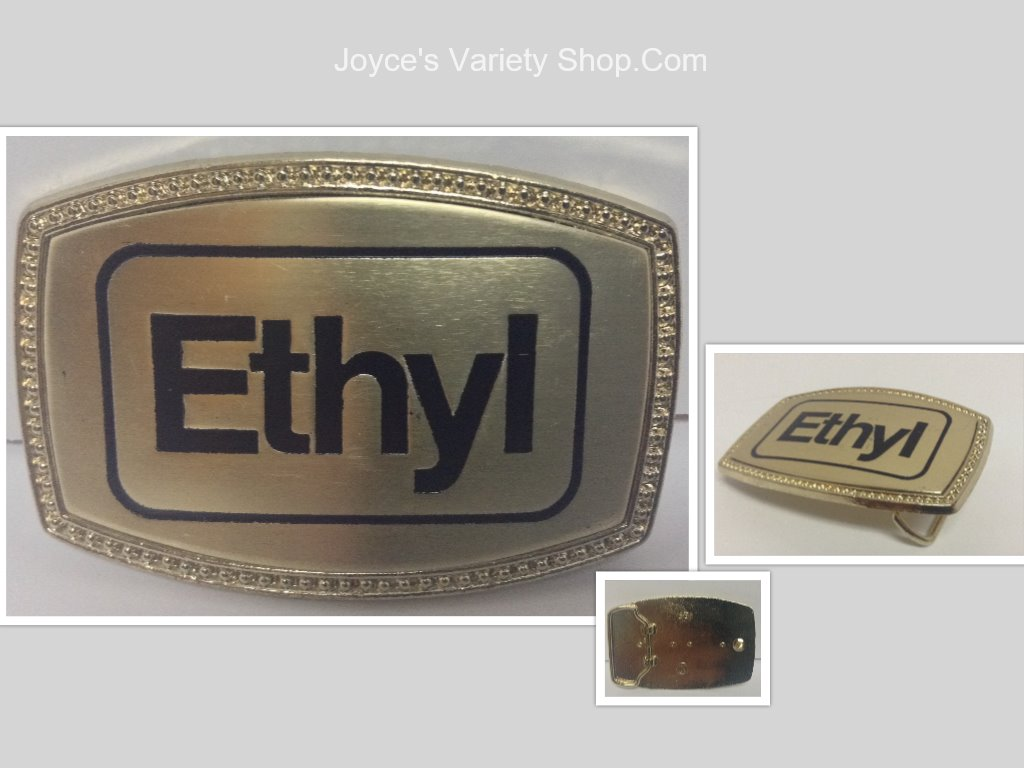 Americana Belt Buckle Ethyl