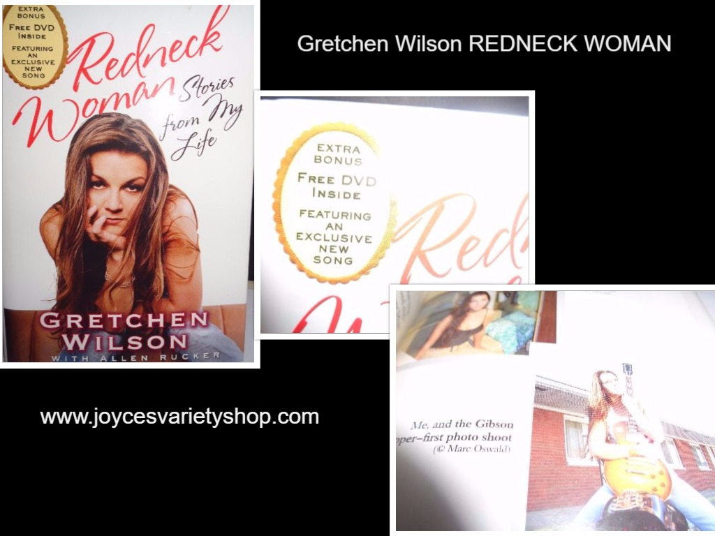 Gretchen Wilson REDNECK WOMAN Book w/CD Heaven Help Me BRAND NEW