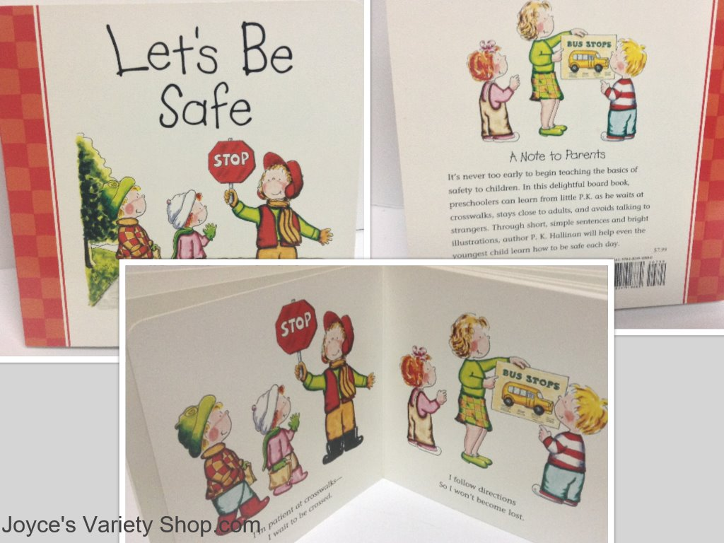 Children's Book Be Safe