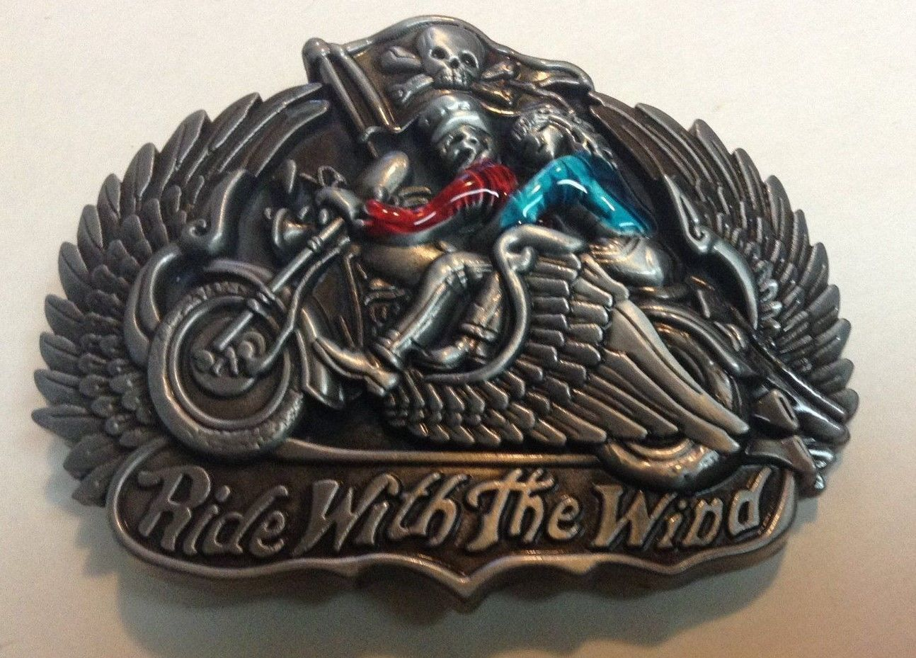 Motorcycle Couple Belt Buckle