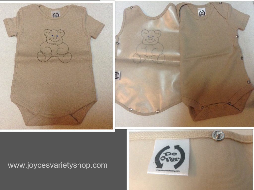 Do Over Onesie Teddy Bear