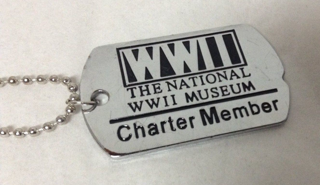 WWII Museum Dog Chain Necklace