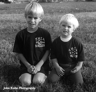 Jason and Matt - 2-1/4 TMax Film