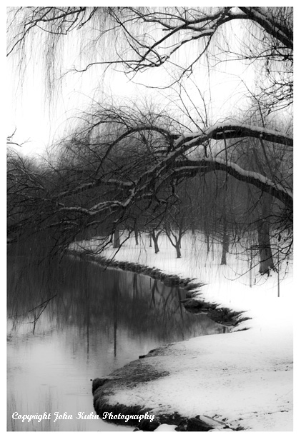 Carroll Creek in Black & White