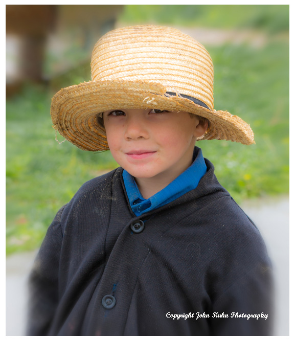 Amish Boy Portrait, Lancaster PA