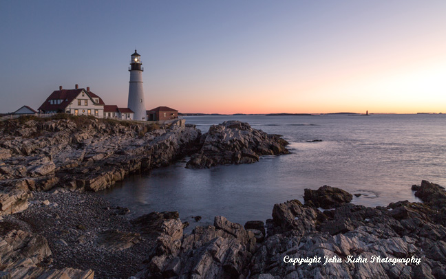Portland Head Lighthouse at Sunrise