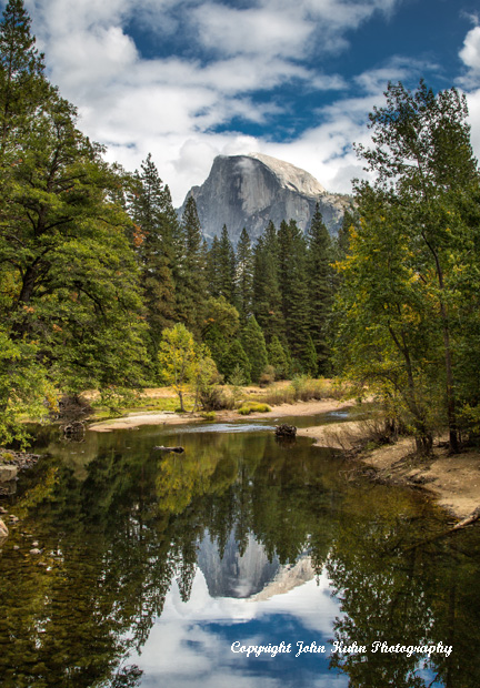 Half Dome Reflection in Merced River