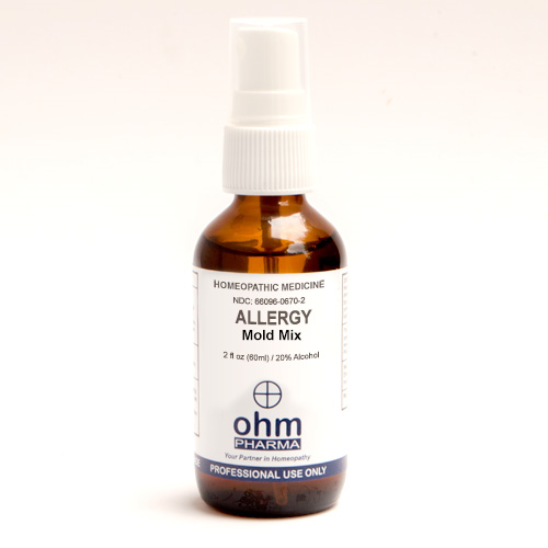 Allergy Mold Mix 2 oz. Spray, Ohm Pharma