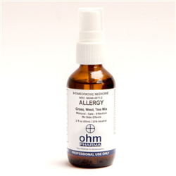 Allergy Grass/Weed/Trees Mix 2 oz. Spray, Ohm Pharma