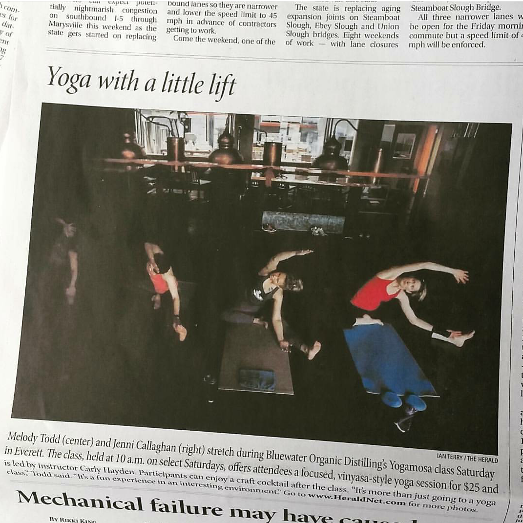 YogaMosa in The Everett Herald