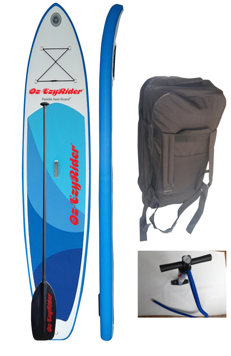 Inflatable Paddle Keel Board - Lynx 10/8