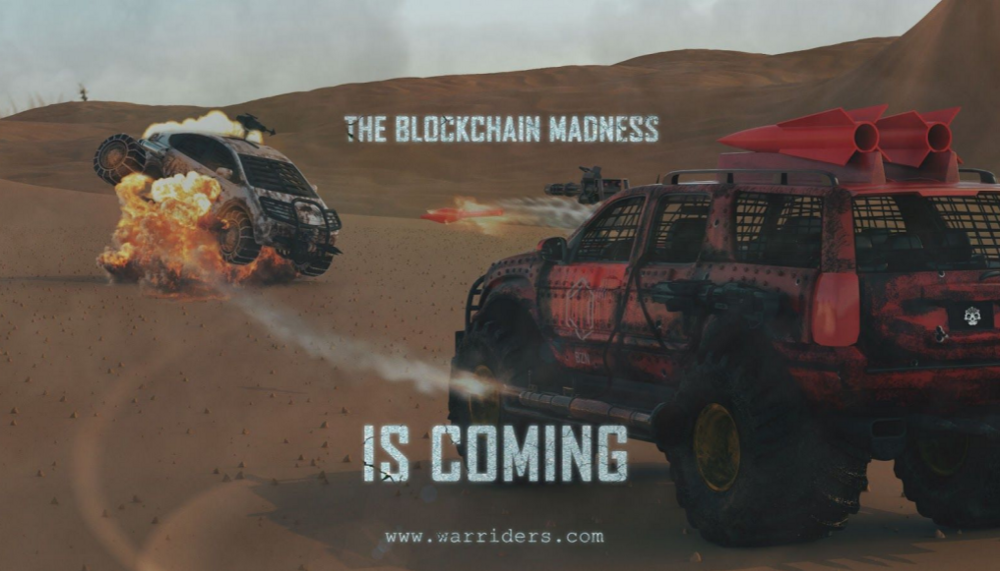 War riders - A blockchain game about blowing up cars and earning crypto